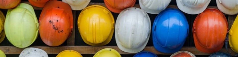 Construction Sector Information Hard Hats